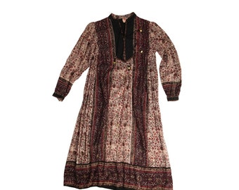 Beautiful Indian Gauze Dress