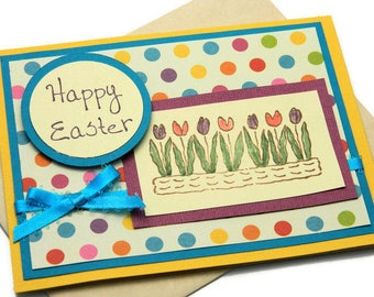 Easter Cards - Happy Easter - Easter Greeting Card - Easter Greetings - Friendship Card - Card For Parents - Stampin Up Card - Handmade Card
