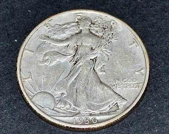 1936 Walking Liberty Half dollar extra fine condition