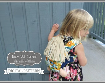 Easy Doll Carrier - Easy to Sew - Easy to Wear - Onbuhimo - PDF Sewing Pattern