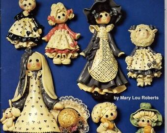Dough Dollies Craft Pattern Book Hot Off The Press HOTP 182