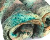 Superwash Sock Yarn, Speckled Sock Blank,  Hand Dyed Yarn, Washable Sock Yarn