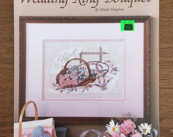 Wedding Ring Bouquet Cross Stitch Pattern by Paula Vaughan, Book Seven, Leaflet 493