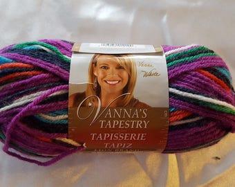 Vanna's Tapestry Yarn NEW OVERSTOCK - 145 Yards Brazil Peru  Lion Brand