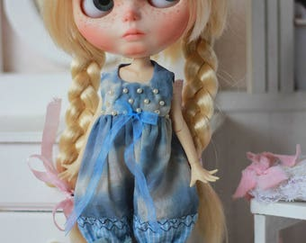 LAST ONE - Winter Couture - Overalls - For Blythe Doll