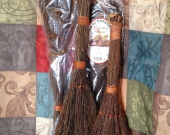 """Natural CINNAMON BROOMS -- Smells Wonderful  Sizes: 24"""" or 36"""" Inch Items"""