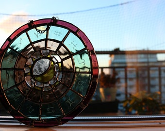 Astrology Wheel Suncatcher
