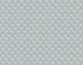 """CLEARANCE SALE 30% OFF Riley Blake Designs """"Merry Little Christmas"""" by Zoe Pearn - Merry Scallop Gray - 1/2 yard"""