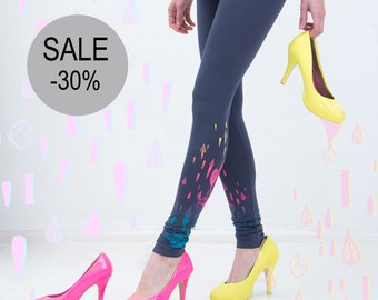30% SALE - Pixie Garden - leggings