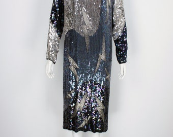 Vintage Sequin Dress size Medium