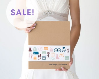 ON SALE!!! Wedding Starter Kit - Wedding Planning Book and Binder