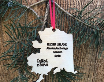 LDS Missions Christmas Ornament Missionary Gift Missionary Ornament LDS Elder Ornament lds Sister Ornament LDS Missionary Gift Dominican
