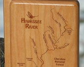 HIWASSEE RIVER MAP Fly Bo...