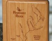 HIWASSEE RIVER MAP Fly Bo...