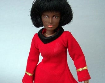 Vintage 1974 MEGO Star Trek Uhura Figure C8