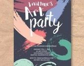 Printable Art Birthday In...