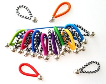 chose SIZE - 'Victory' - soft flexible FLOOPS knitting stitch markers