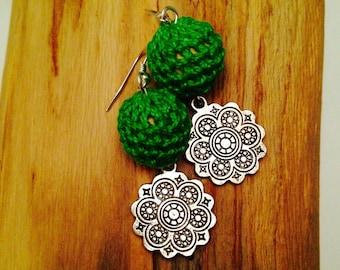 Bouddha zen earrings