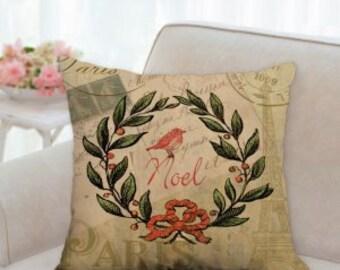 Noel Christmas Designer Pillow
