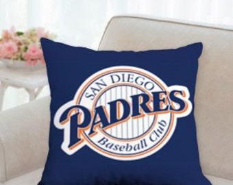 San Diego Padres Baseball Pillow