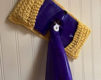 Swiffer Reusable Mop / Dust Cover [hand-knit]