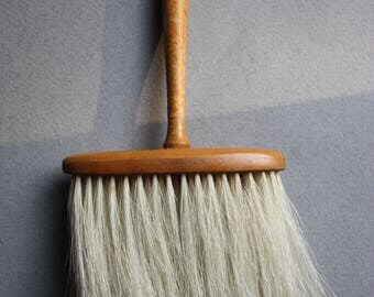 Shaker-Style Wood and Horsehair Brush, Made in England