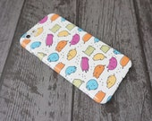 Bean Cats Cute Colourful Cat Animal Patterned iPhone 5 / 5S / SE / 6 / 6S / 7 / 8 / X Case