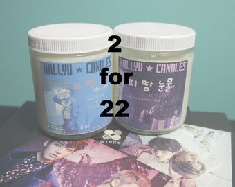 2 For 22 - Pick any two 8 oz candles
