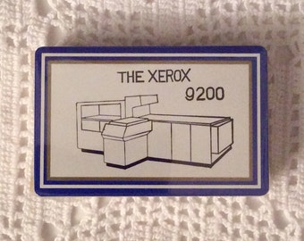 Playing Cards: Xerox 9200 Copier Business Machine