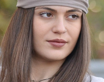 Knitted Headband, Tan Headband, Bandana Headband, Elastic Headbands, Fitness Headbands, Vintage Headbands, Turban Headbandss, Womens Turbans