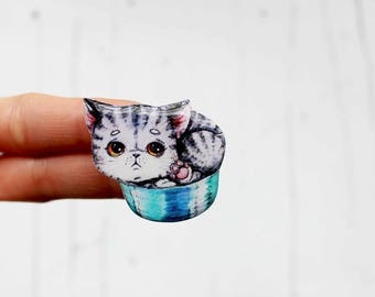 cat gift idea|for|her cat brooch unique gifts cat lover gift cat pin best friend gift cat jewelry pets animal jewelry kid friend gift kitty