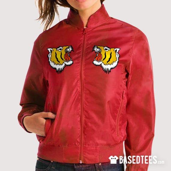 "Colleen Bomber Jacket  ""Vintage Tigers"""