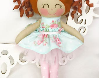Cloth Baby Doll- Red Head- Girl Gift