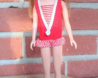 1963 Skipper doll red hair Mattel Barbie's sister Skipper original