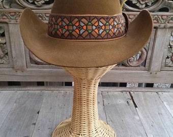 Vintage 'Dynafelt' Western Cowboy Hat