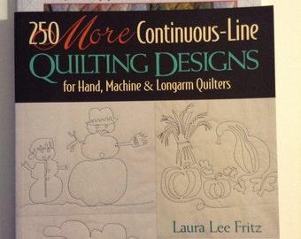Continuous Line Quilt Designs books (2)