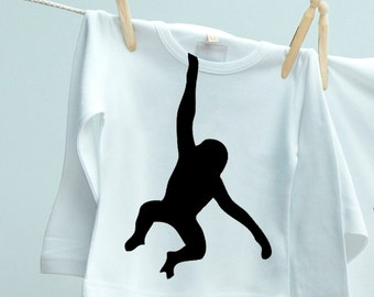 Cheeky Little Monkey T shirt Gift for son or daughter