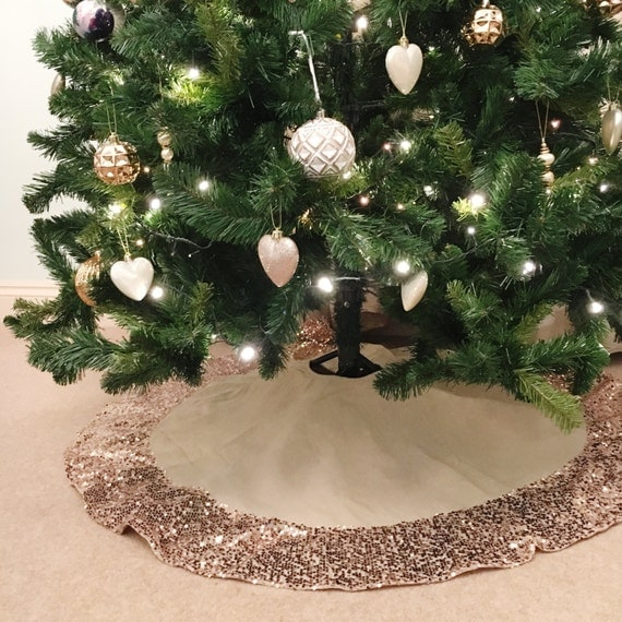 Sequin Christmas Tree Skirt