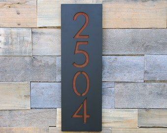 Crestview Address Plaque, House Numbers, Address Sign (Free Shipping)