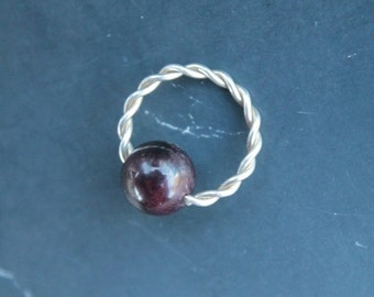 unique 14g lip ring related items etsy
