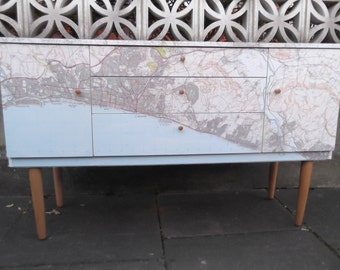 SOLD***SOLD***Three Drawer Sideboard/Cabinet in South Coast Continuing Map SOLD