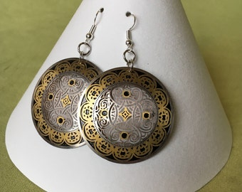 Laser Cut Earrings
