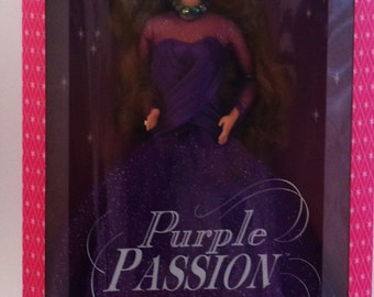 Vintage Burnette Purple Passion Barbie
