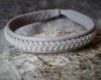 Tenntrådsarmband, Leather bracelet, Scandinavian craft, Sami craft, Nordic jewelry