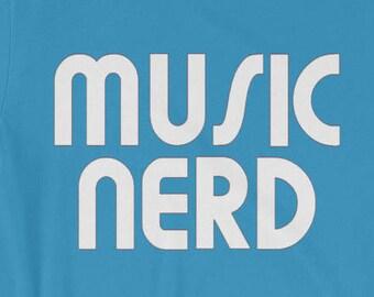 Music Nerd T-shirt Vintage Vinyl 1960s Music