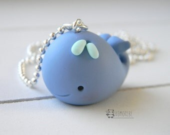 Whale, Whale, Necklace, Necklace