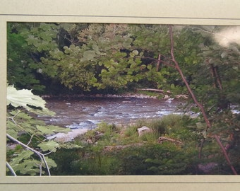Connoquenessing Creek, Pennsylvania Blank Photo Card with Envelope