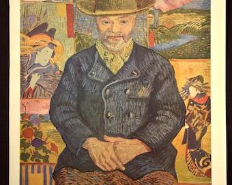 Van Gogh Portrait Print Van Gogh Wall Art Decor Artwork
