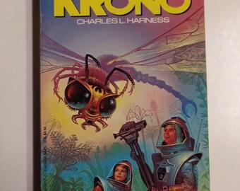 Krono by Charles L. Harness Avon Books 1989 Vintage Sci-Fi Paperback