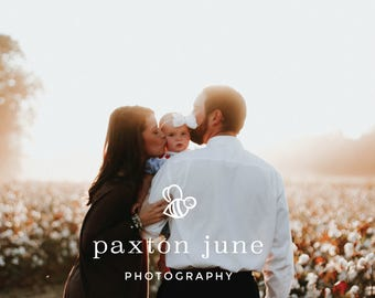 Paxton June Photography Ready-Made Brand Design -  Logo Design, Print and Digital Marketing Materials for the Modern Small Business Owner